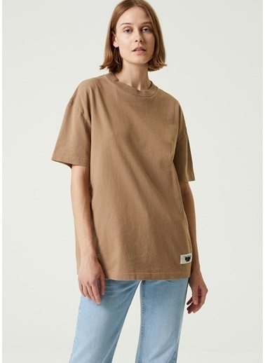 Acne Studios Polo Yaka T-shirt Kahve
